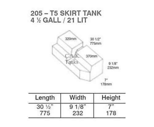 campervan waste tank kit.