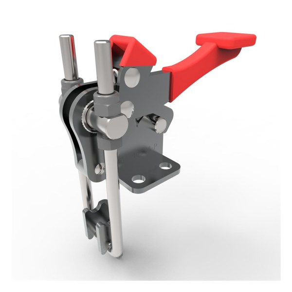 Toggle clamp latch in detail.