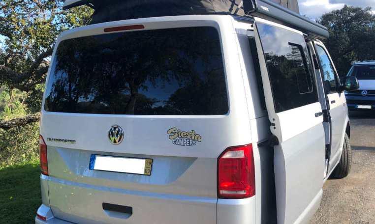 VW T6 for sale, rear.