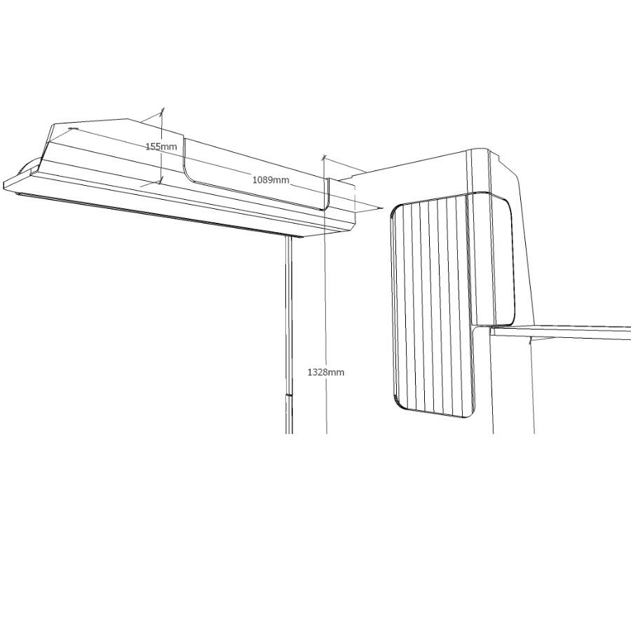 VW T5 & T6 California complete furniture kit schematics.