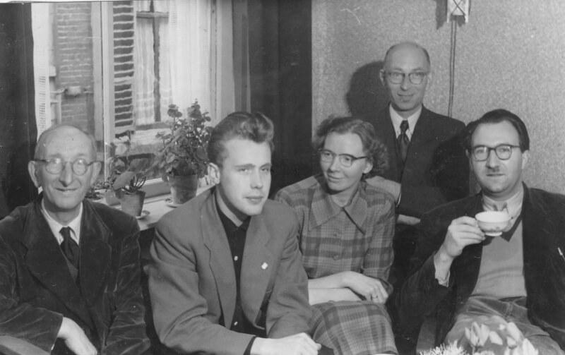 Willem in zijn jonge Kampense jaren