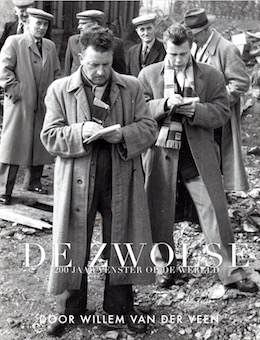 De voorkant van het e-book 'De Zwolse, 200 jaar venster op de wereld.