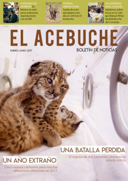 Het speciale centrum in Acebuche geeft ook een tijdschrift uit, waarin veel aandacht is voor het fokprogramma.