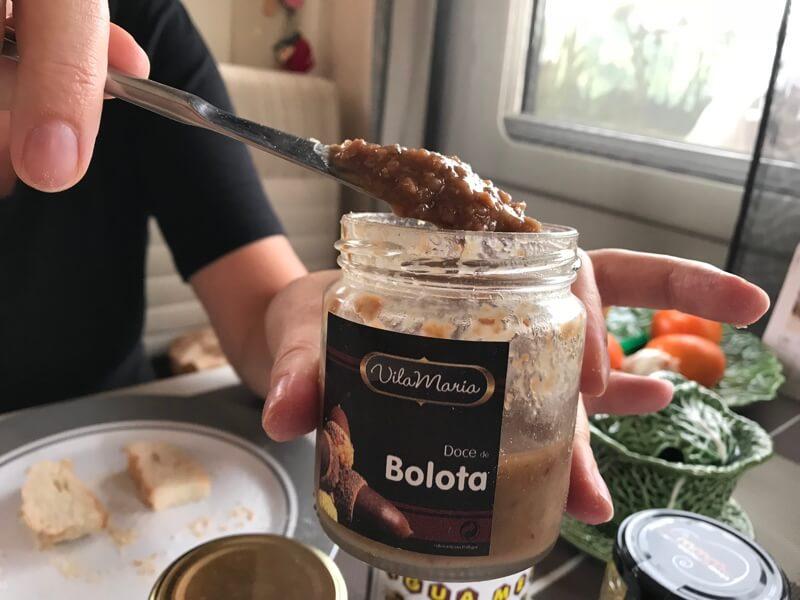 De eikeltjesjam wordt getest in Smuikje. Bolota is Portugees voor eikel.
