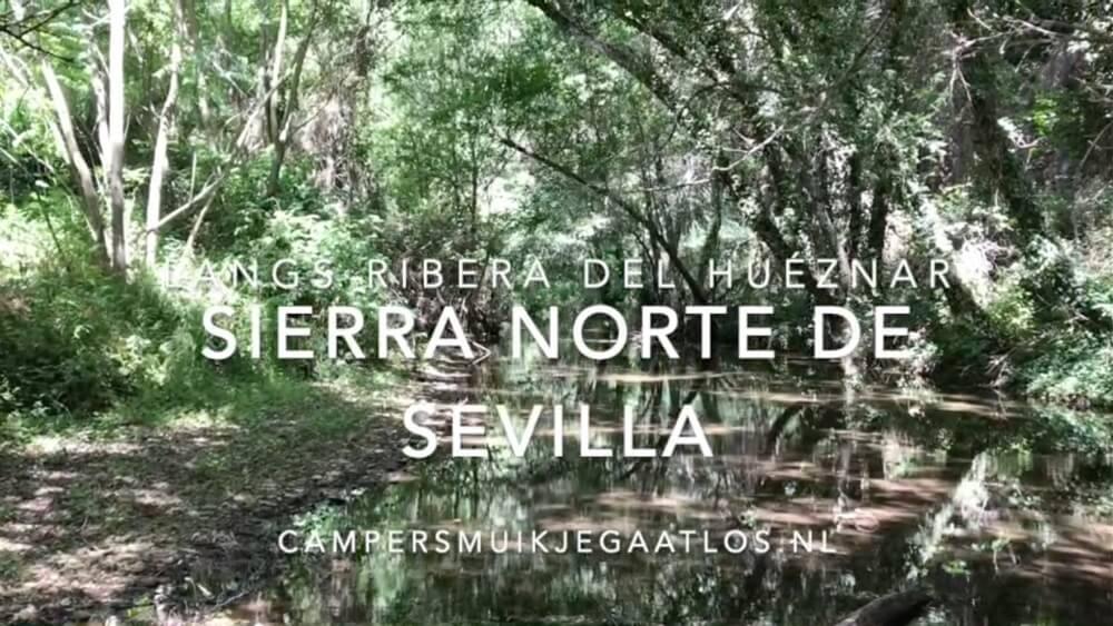 YouTube-filmpje over het waterplezier in Ribera del Huéznar (Duur 1,24 min).