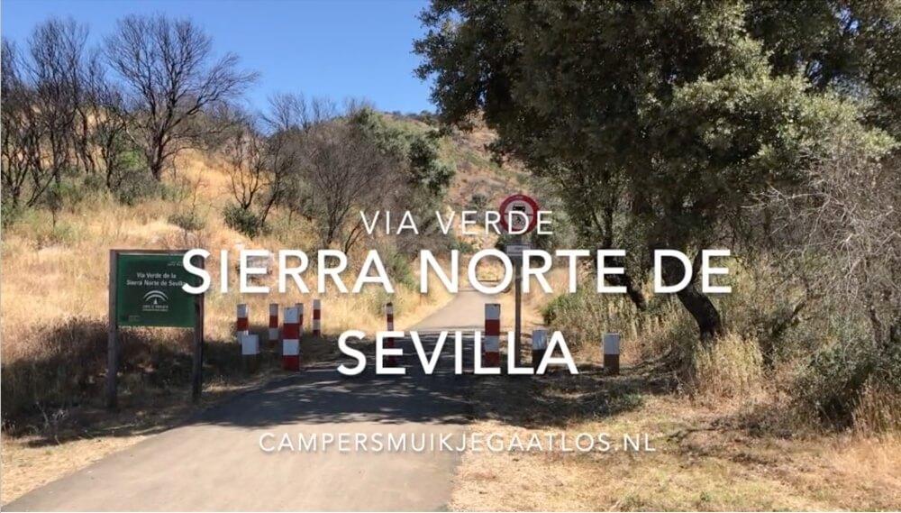 Een YouTube-filmpje over onze fietstocht over de Via Verde van Sierra Norte de Sevilla. (Duur 2:38 min).