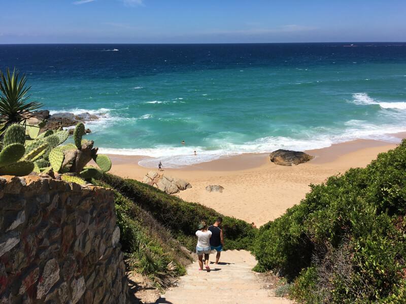 Het prachtige strand bij Atlanterra (Tarifa-Zahara de los Atunes) is meestal leeg.