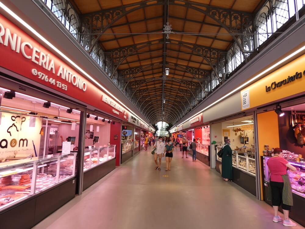 De Mercado uit het begin van de 20ste eeuw, is onlangs gerestaureerd.