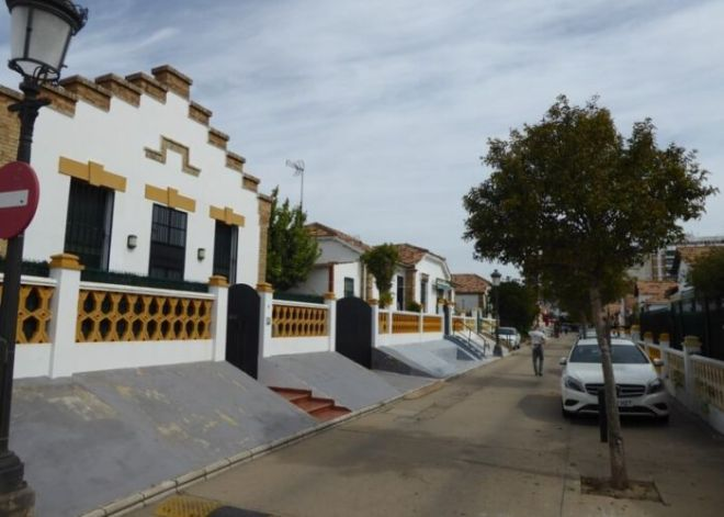 Nr.8. De Engelse wijk, barrio Reina Victoria, in Huelva is één van de weinige hoogtepunten in de provinciehoofdstad.