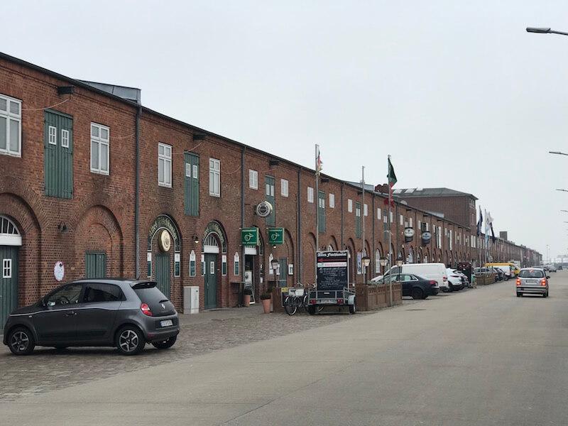 De Fischmeile in Cuxhaven.