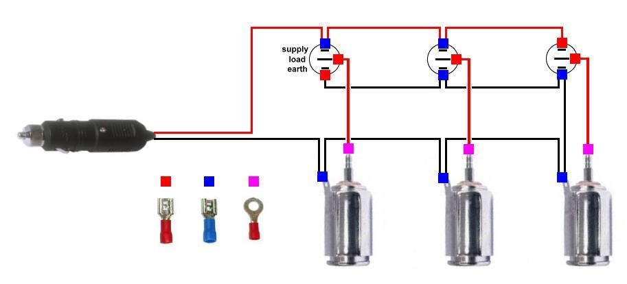 Cigarette Lighter Socket Wiring Diagram 12volt Lighting Switchbox
