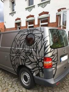 VW T5 mit sehr coolem Design