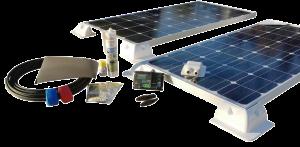 Produkte für die Selbstmontage - 200W Solar kompleet Set für Wohnmobile und Camper