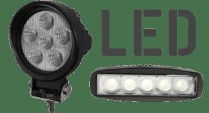 Arbeitsscheinwerfer & Beleuchtung LED
