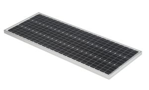"100W Solarmodul ""schmal"" 72zellig mit 24V Nennspannung und 4 Busbars"