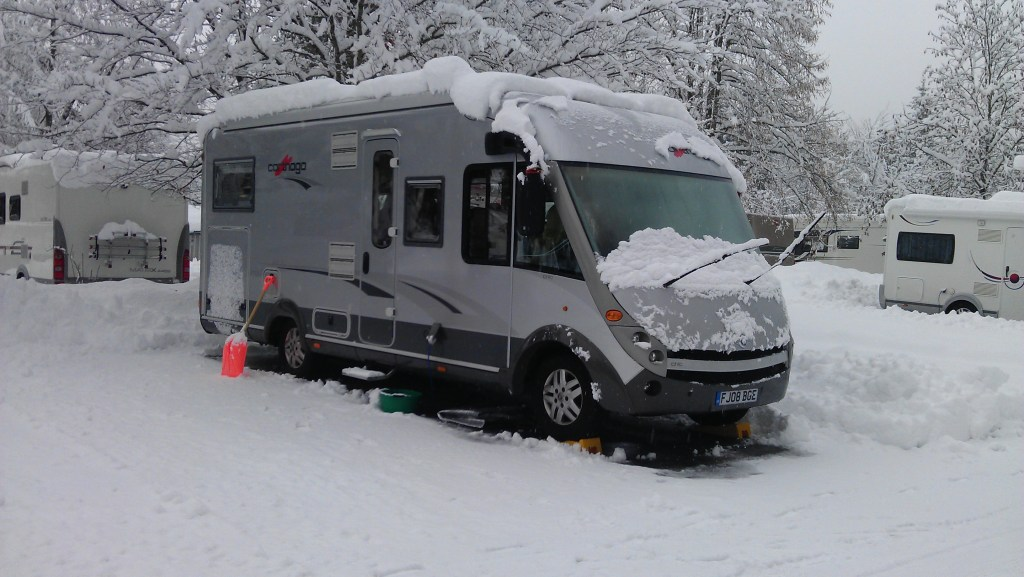 French Alps Motorhome Aire