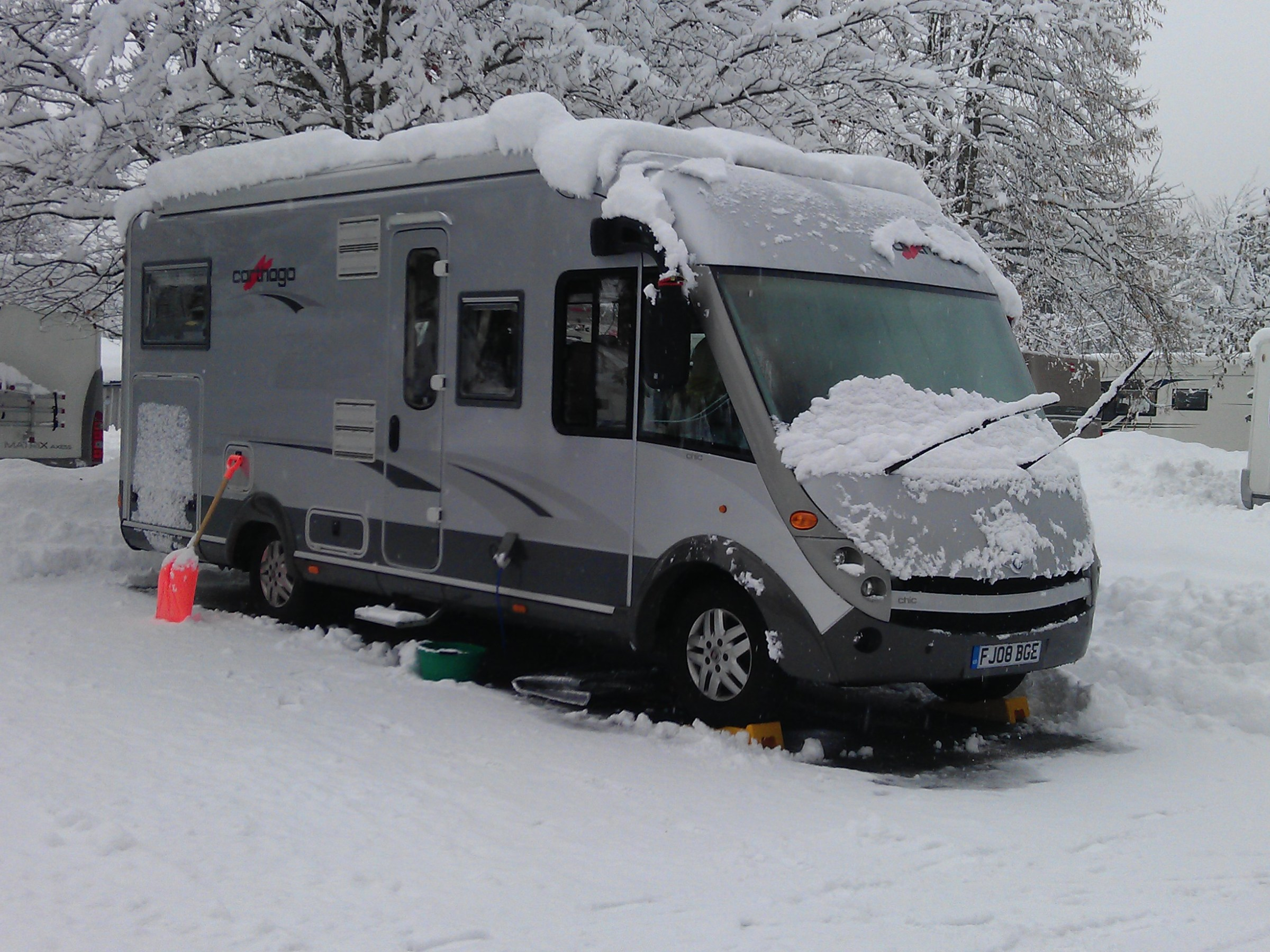 Ski Resorts in a Motorhome