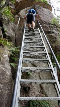 Hiking involving Stairs