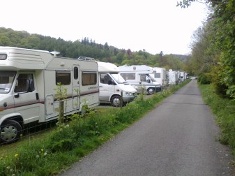 Motorhome Aire France
