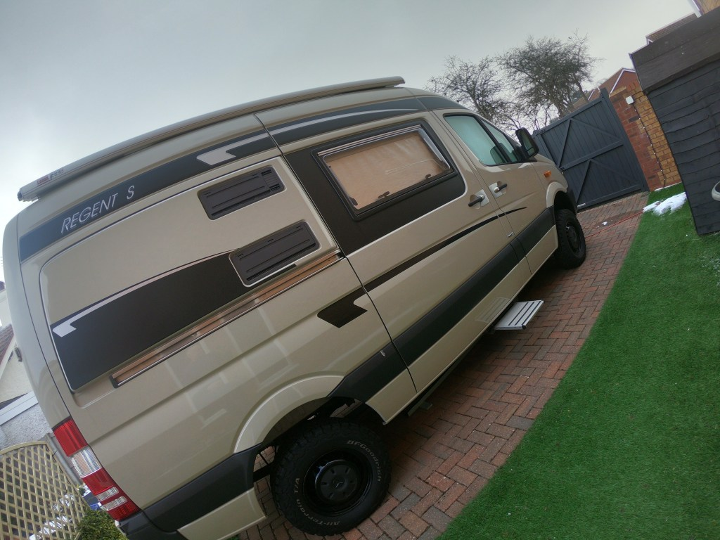 Sprinter campervan 4x4