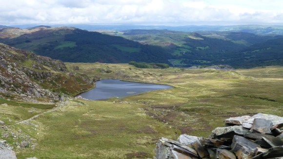 Mountain Walking above Capel Curig