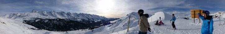 Ski resorts in a motorhome