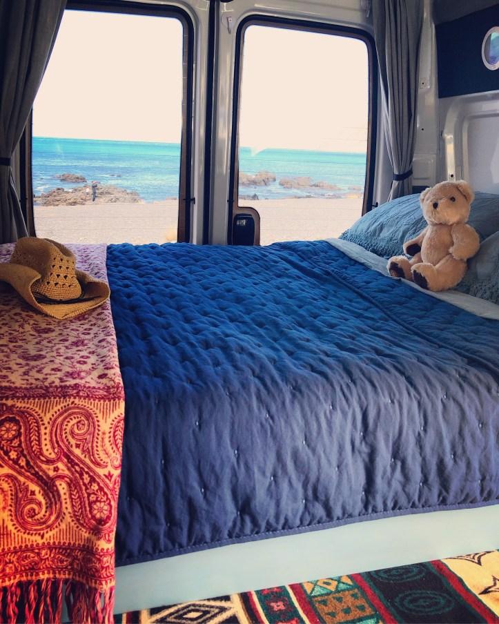 Campervan vanlife New Zealand
