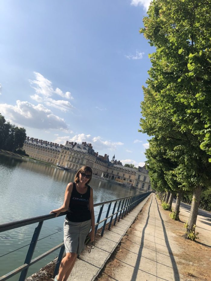 Fontainebleau Calais to Italy in a campervan