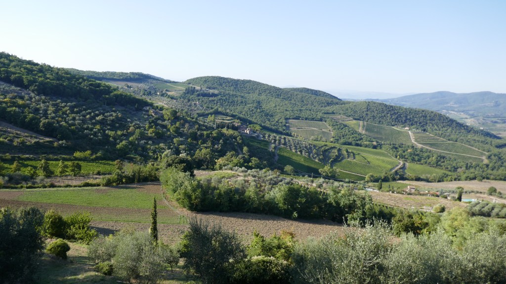 Tuscany Chianti and Val D'Orcia