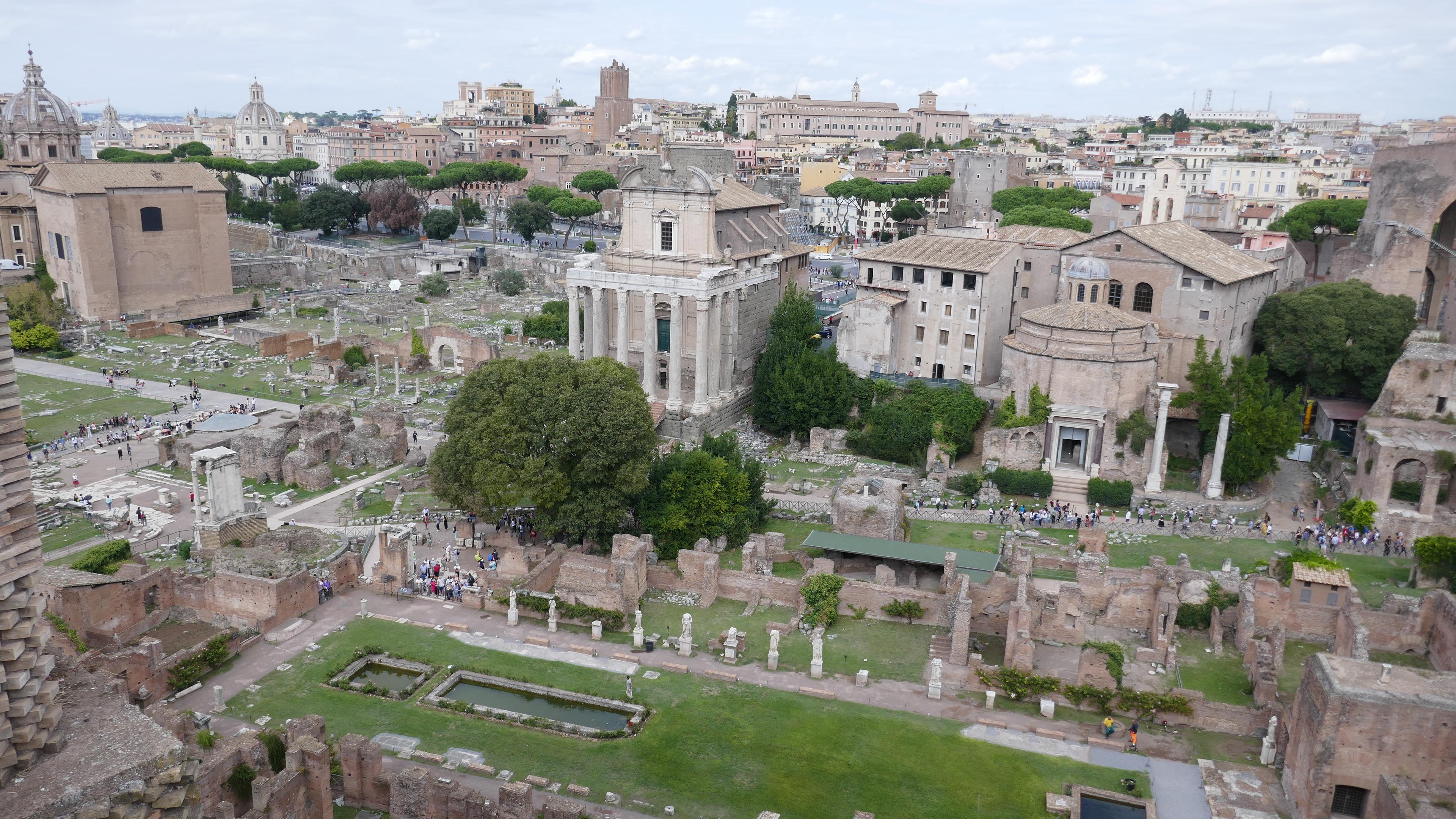 Rome by campervan