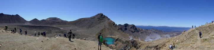 The Crater Lakes