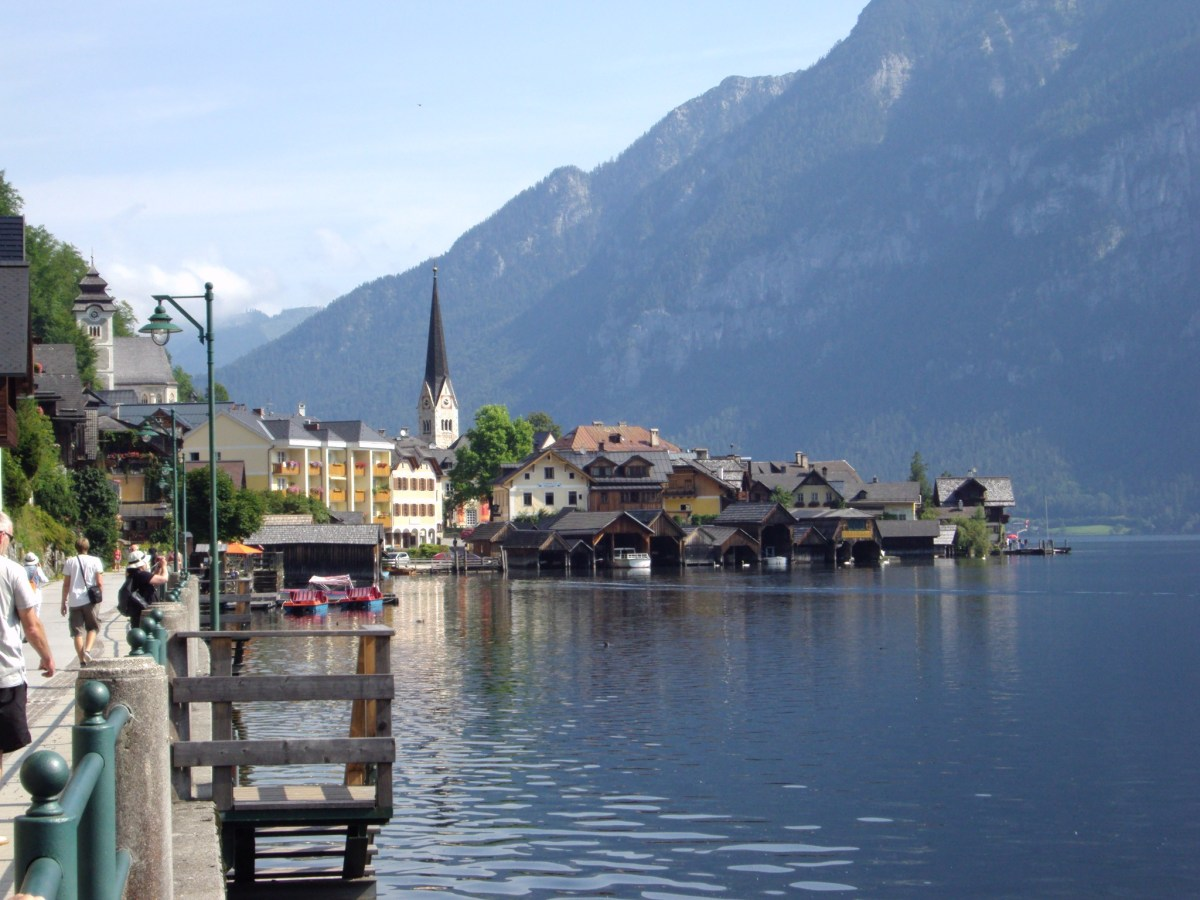 Hallstatt The Salzkammergut Lakes in Austria