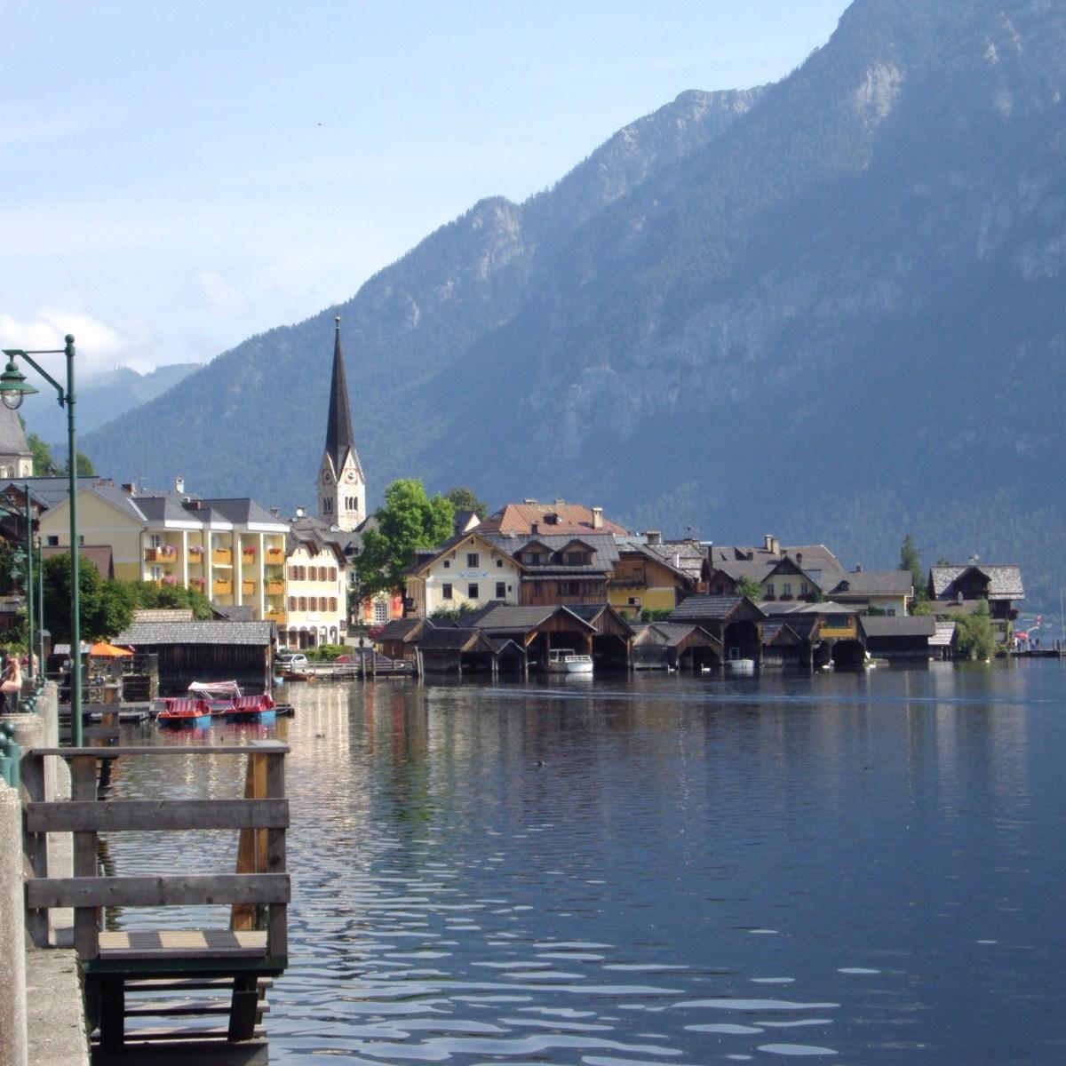 Hallstatt The Salzkammergut Lakes in Austria