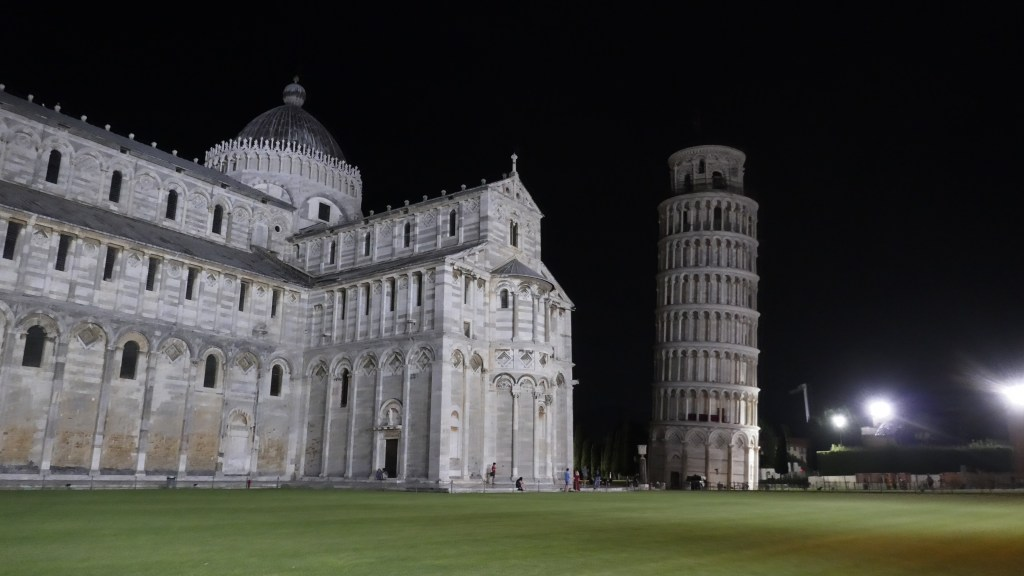 Visiting Pisa in a campervan