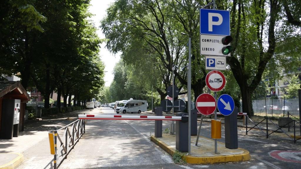 motorhome sosta Verona