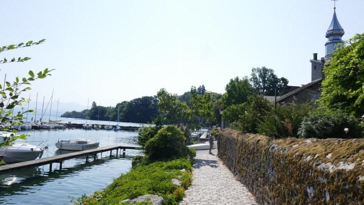 Lake Geneva from Yvoire