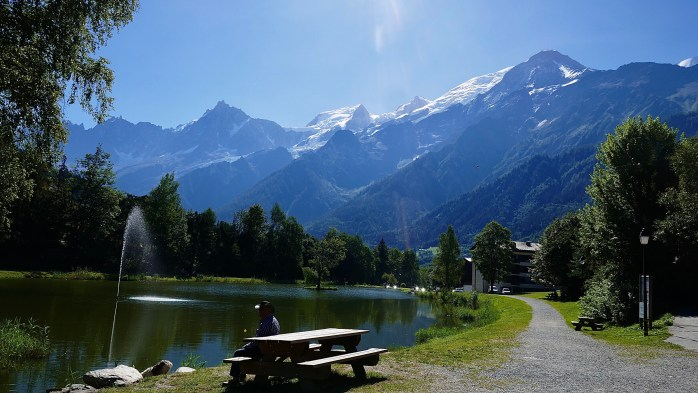 The French Alps in Summertime