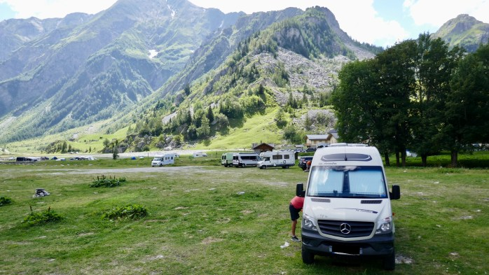 Les Chapieux the french Alps