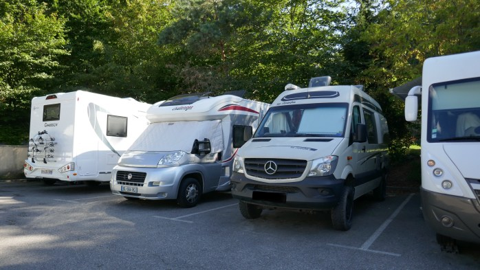 Motorhome Aire Annecy