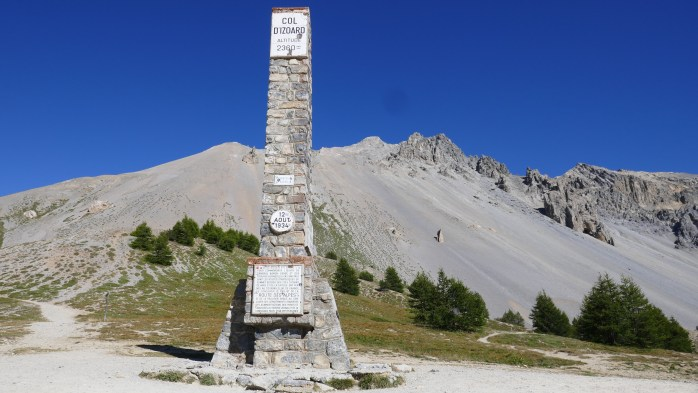 The Col d'Izoard Mountain Pass
