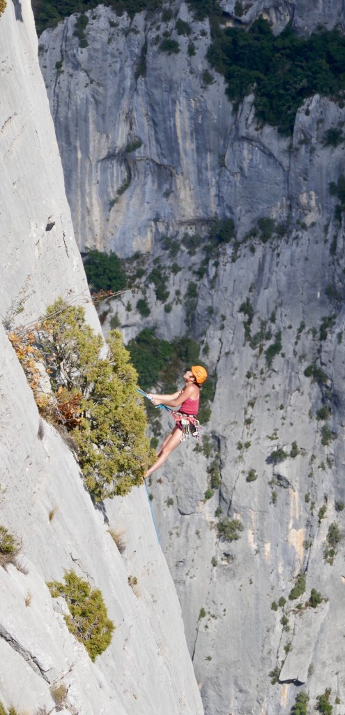 Climbing Gorges du verdon