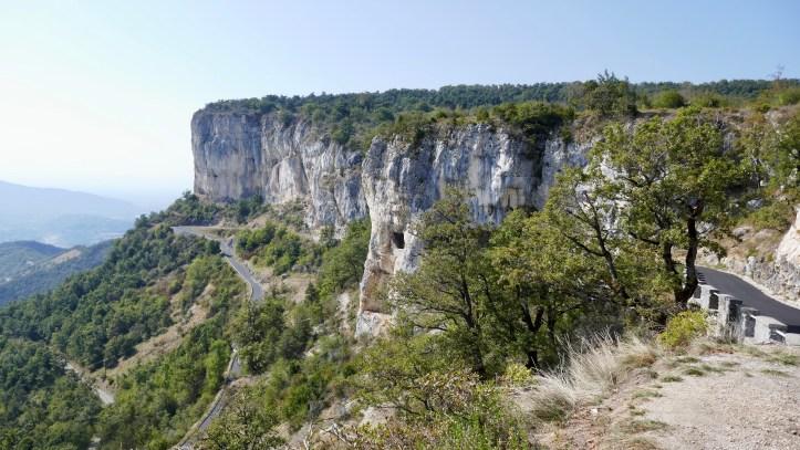 route de Presles Balcony road