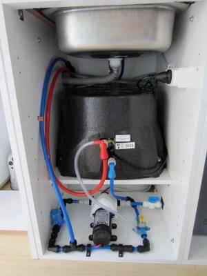 campervan water tanks | The Campervan Converts