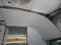 Camper ceiling