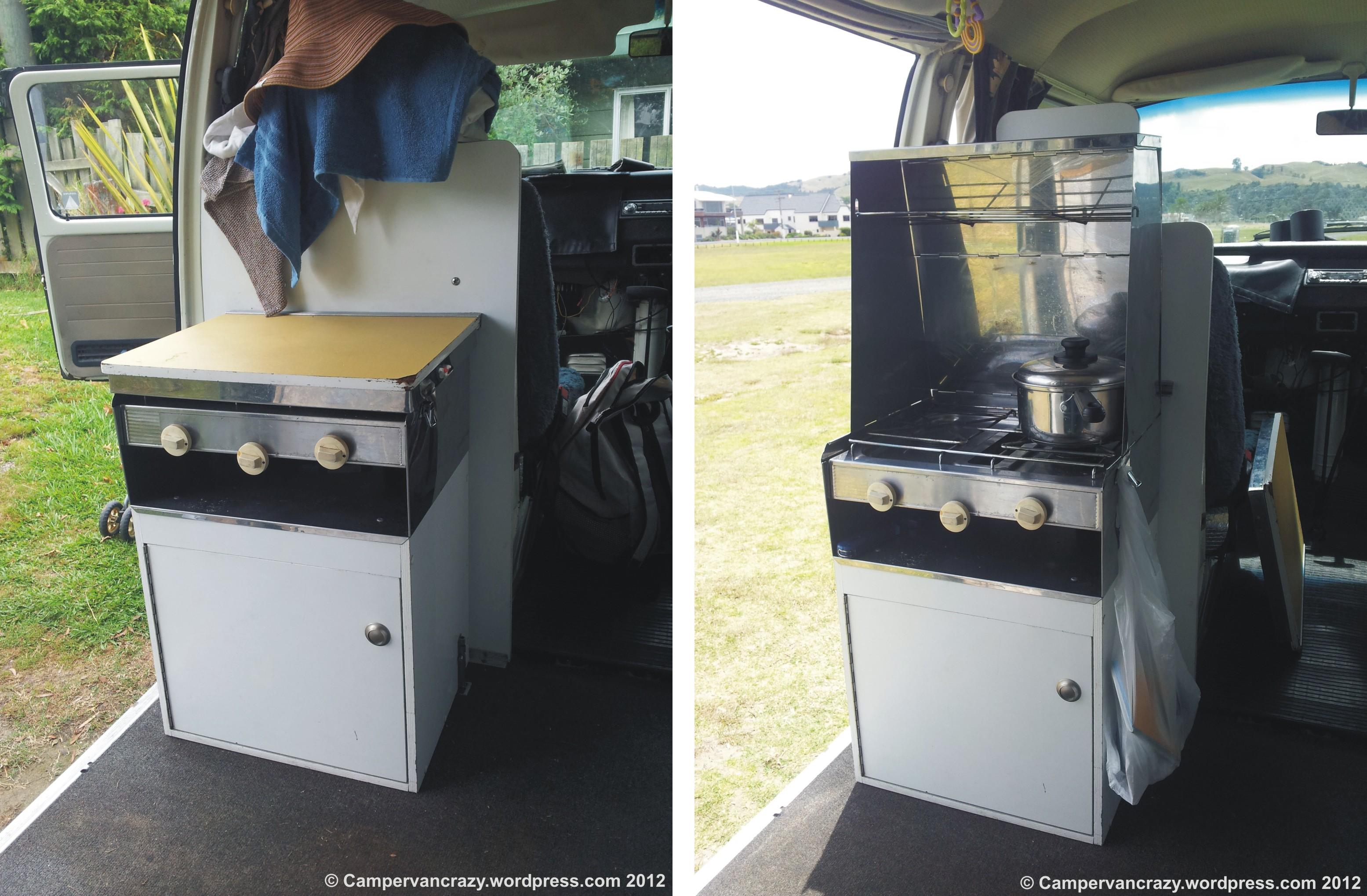 Devon cooker  Campervan Crazy