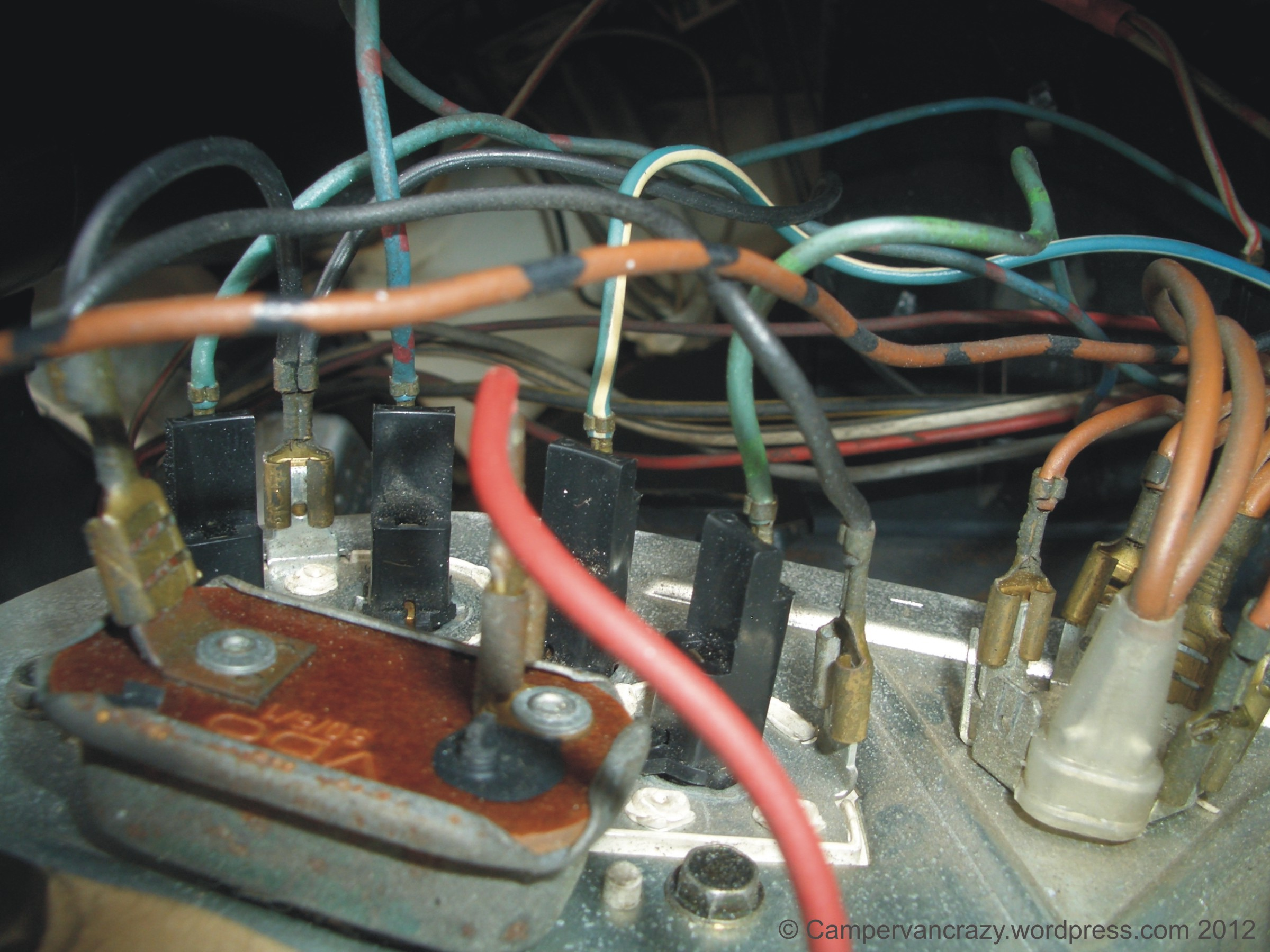1978 vw bus wiring diagram single phase house late bay instrument campervan crazy this