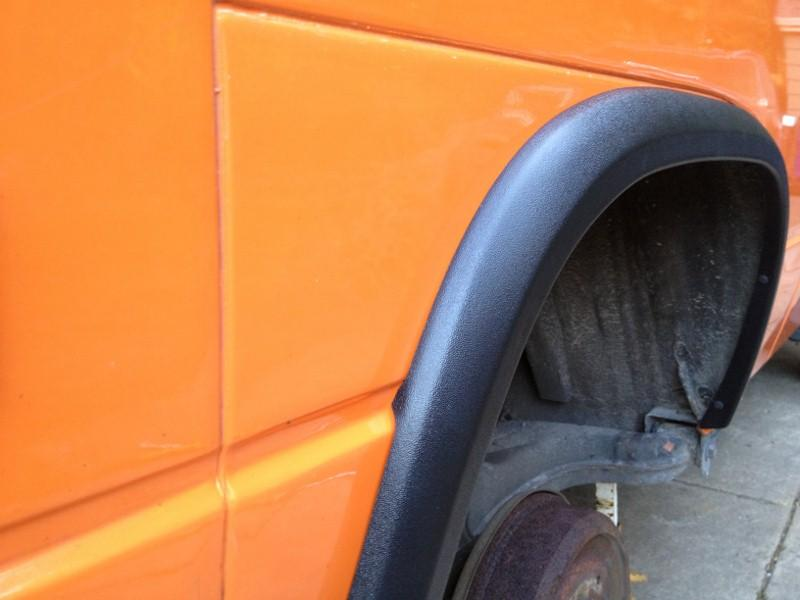Terrawagen Syncro or 2WD Flare Wheel Arch Kit  now in stock  CampervanCulturecom
