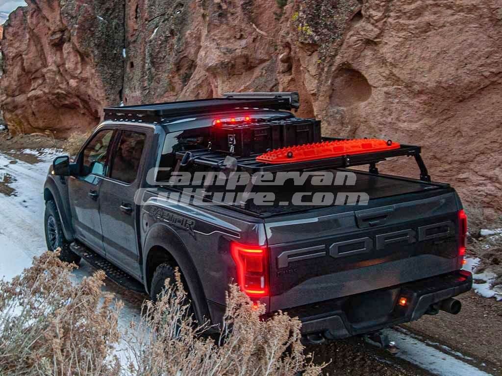 ford f150 2015 current retrax xr 6 5 slimline ii load bed rack kit by front runner