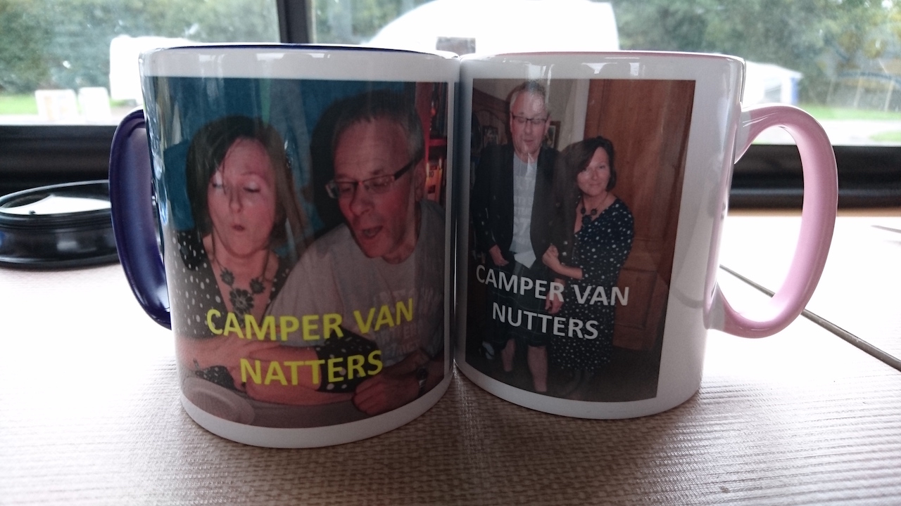 Thanks Susan and Steve Watson for the brilliant mugs xx