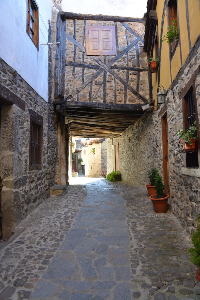 Little street in Potes